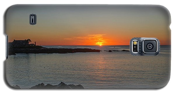 George Bush Galaxy S5 Case - Walkers Point Kennebunkport Maine by Bill Cannon