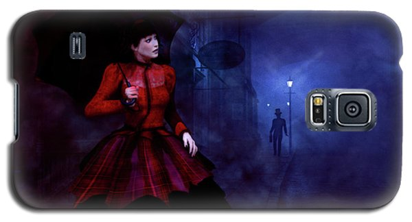 Walking After Midnight Galaxy S5 Case by Methune Hively