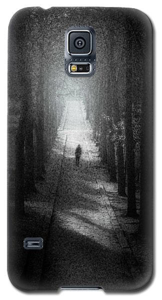Walking Alone Galaxy S5 Case