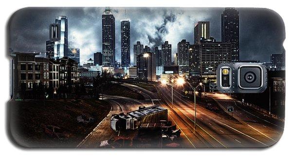 Walking Dead Tribute Downtown Atlanta Georgia  Galaxy S5 Case