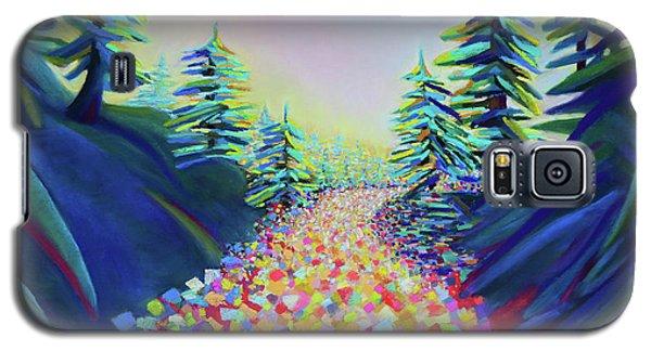 Walking In The Light Galaxy S5 Case