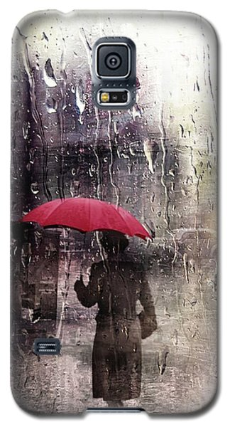 Walking In The Rain Somewhere Galaxy S5 Case
