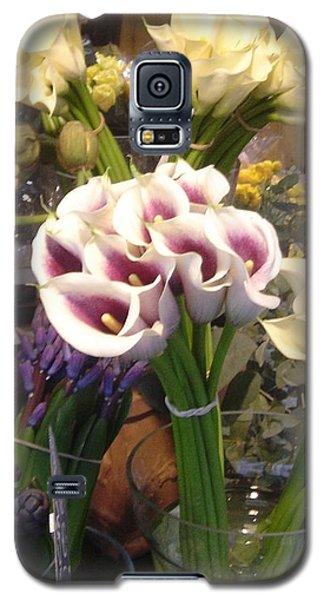 Walking In The Streets Of Paris. Flowers In Montparnasse  Galaxy S5 Case