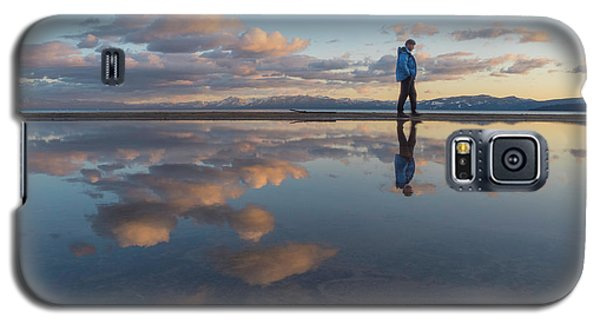 Walking In The Sunset Galaxy S5 Case