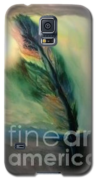 Galaxy S5 Case featuring the painting Walking In Your Light  by FeatherStone Studio Julie A Miller