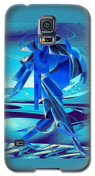 Walking On A Stormy Beach Galaxy S5 Case