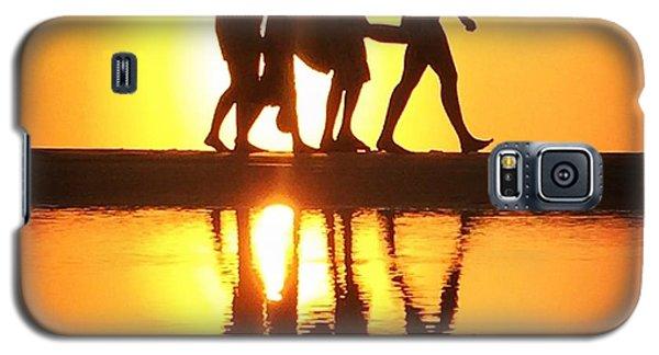 Walking On Sunshine Galaxy S5 Case by LeeAnn Kendall
