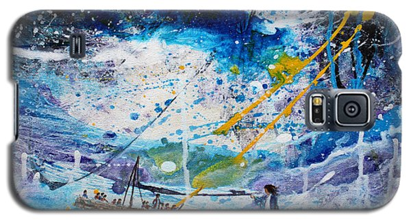 Walking On The Water Galaxy S5 Case