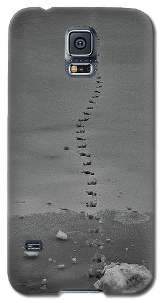 Walking On Thin Ice Galaxy S5 Case