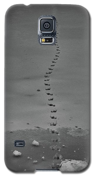 Walking On Thin Ice Galaxy S5 Case
