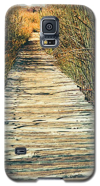 Galaxy S5 Case featuring the photograph Walking Path by Alexey Stiop