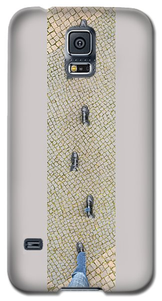 Funny Galaxy S5 Case - Walking Shoes 01 by Matthias Hauser