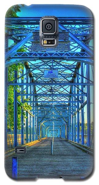 Walking Tall Walnut Street Pedestrian Bridge Art Chattanooga Tennessee Galaxy S5 Case
