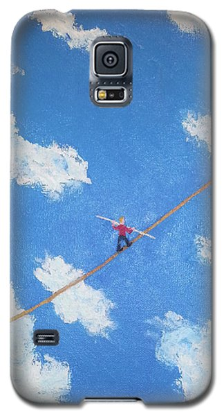 Walking The Line Galaxy S5 Case