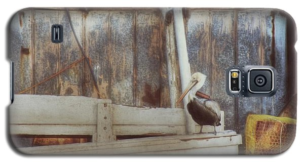 Galaxy S5 Case featuring the photograph Walking The Plank by Benanne Stiens
