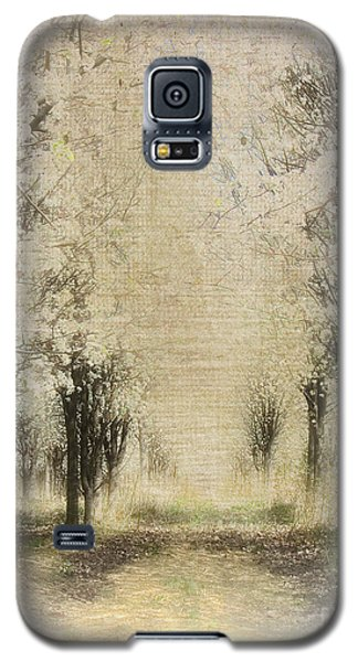 Galaxy S5 Case featuring the painting Walking Through A Dream IIi by Dan Carmichael