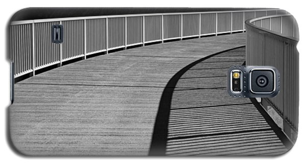 Galaxy S5 Case featuring the photograph Walkway by Chevy Fleet