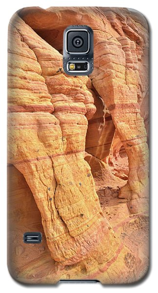 Galaxy S5 Case featuring the photograph Wall Arches In North Valley Of Fire by Ray Mathis