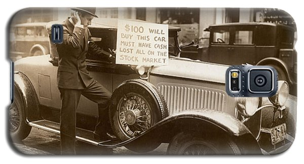 Wall Street Crash, 1929 Galaxy S5 Case