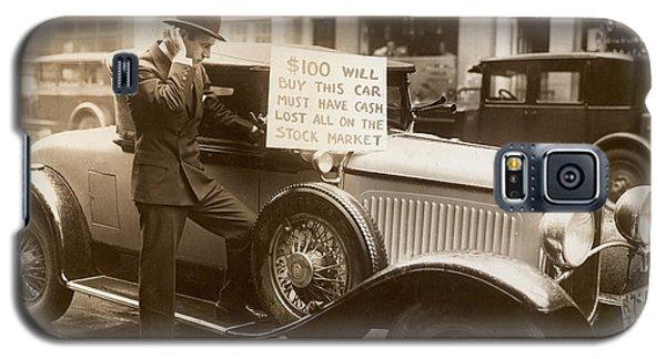 Wall Street Crash, 1929 Galaxy S5 Case