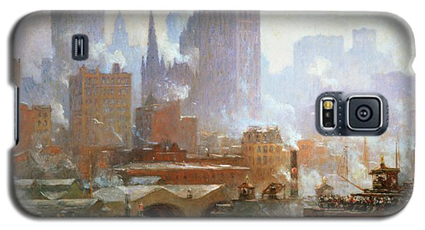 Wall Street Ferry Ship Galaxy S5 Case