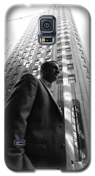 Wall Street Man II Galaxy S5 Case