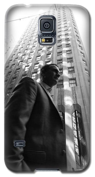 Wall Street Man II Galaxy S5 Case by Dave Beckerman