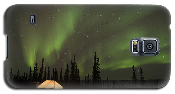 Wall Tents And Aurora Galaxy S5 Case