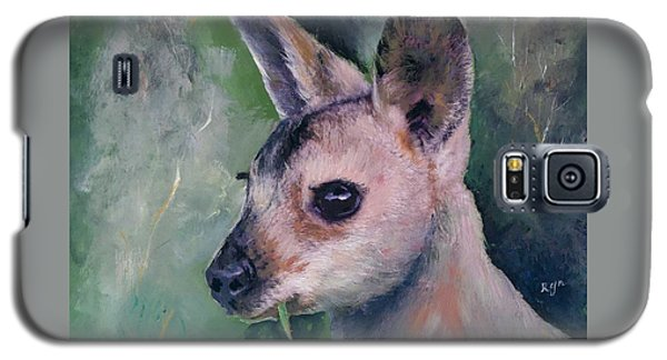 Wallaby Grazing Galaxy S5 Case