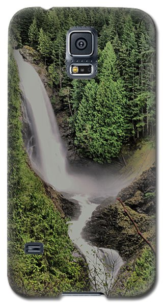 Galaxy S5 Case featuring the photograph Wallace Falls by Jeff Swan