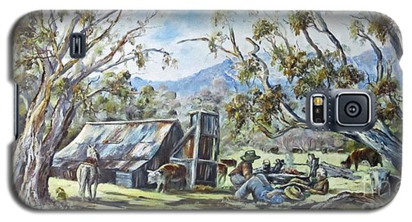 Wallace Hut, Australia's Alpine National Park. Galaxy S5 Case