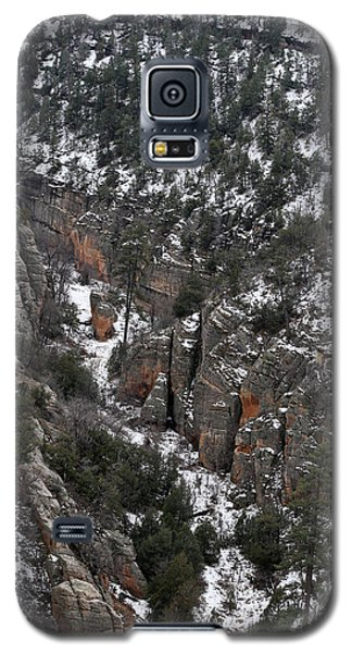 Walnut Canyon In Flagstaff In Winter 4 Galaxy S5 Case