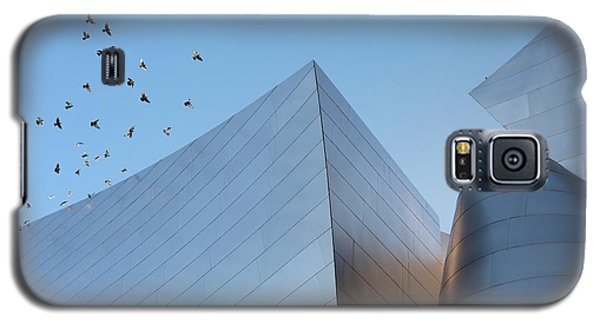Galaxy S5 Case featuring the photograph Walt Disney Concert Hall Los Angeles California Architecture Abstract by Ram Vasudev