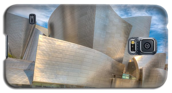 Galaxy S5 Case featuring the photograph Walt Disney Concert Hall - Los Angeles by Jim Carrell