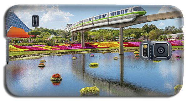 Walt Disney World Epcot Flower Festival Galaxy S5 Case