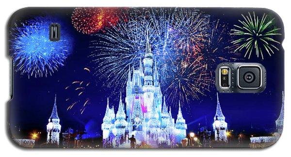 Walt Disney World Fireworks  Galaxy S5 Case by Mark Andrew Thomas