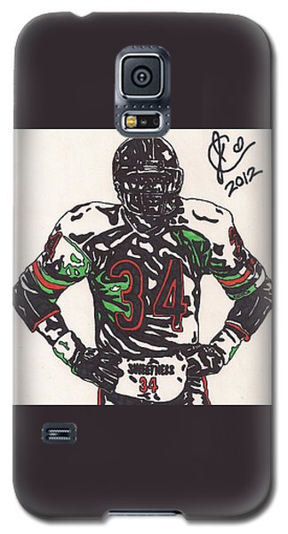 Walter Payton Galaxy S5 Case by Jeremiah Colley
