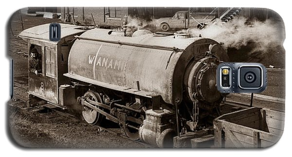 Wanamie Pennsylvania Coal Mine Locomotive Lokey 1969... Galaxy S5 Case