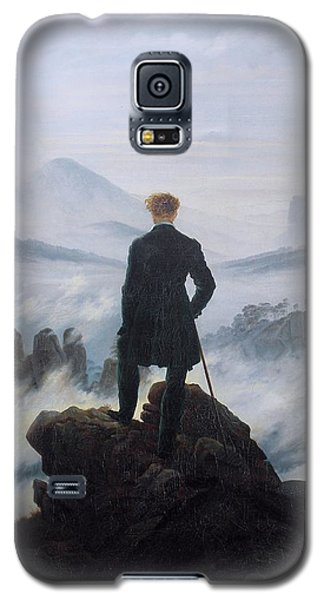 Wanderer Above The Sea Of Fog Galaxy S5 Case