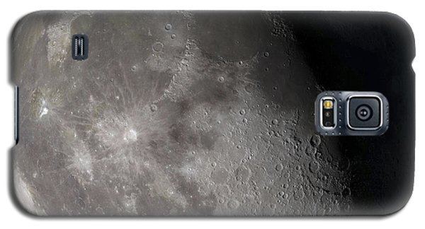 Waning Gibbous Moon Galaxy S5 Case by Stocktrek Images