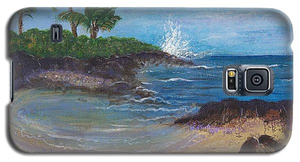 Galaxy S5 Case featuring the painting Wanna Go by Margaret Bobb