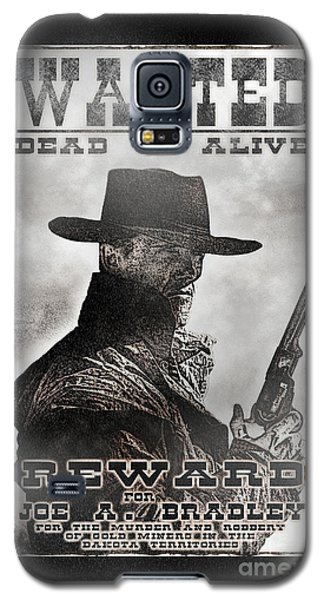 Wanted Poster Notorious Outlaw Galaxy S5 Case