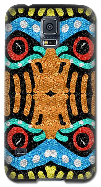 War Eagle Totem Mosaic Galaxy S5 Case