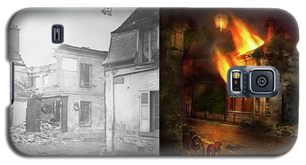 Galaxy S5 Case featuring the photograph War - Wwi -  Not Fit For Man Or Beast 1910 - Side By Side by Mike Savad