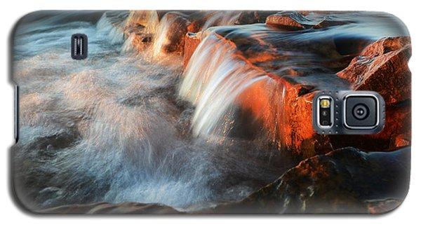Wards Beach Waterfall-2 Galaxy S5 Case