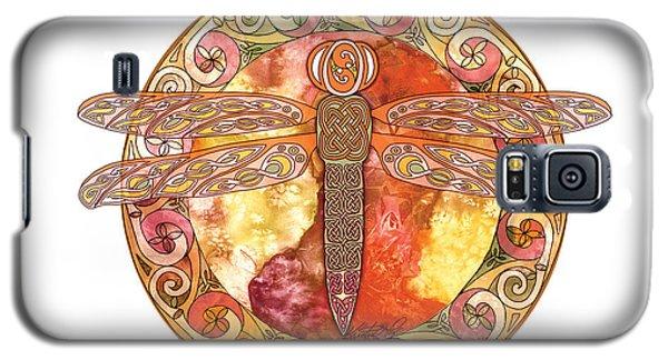 Warm Celtic Dragonfly Galaxy S5 Case