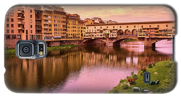 Warm Colors Surround Ponte Vecchio Galaxy S5 Case