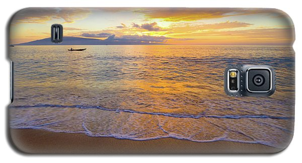 Warm Ka'anapali Sunset Galaxy S5 Case