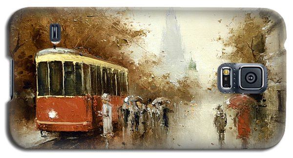 Warm Moscow Autumn Of 1953 Galaxy S5 Case