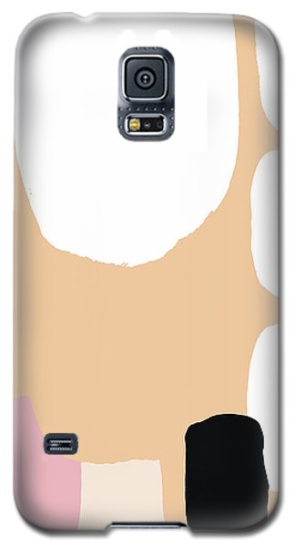 Warm Pastel Abstract Galaxy S5 Case